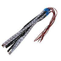 Fasdga 10 x waterproof 15 LED 3528 SMD strip light bar 30 cm DC 12V Car Auto