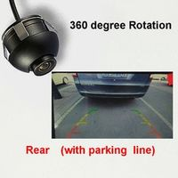 thehotcakes Rear view camera Front Side CCD HD 360 Rotation styling parking