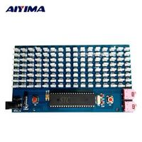 AIYIMA 51SCM Microcontroller Board Music Spectrum Display 8x16MM LED Audio Level