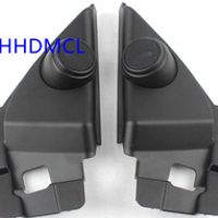 AHHDMCL Car Tweeter Refitting Speaker Boxes Audio Door Angle Gum For Nissan Qashqai