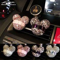 Car styling Bling Car Air Freshener Crystal Perfumes 100 Original Women parfum