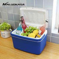 MALUOKASA 8L Portable Car Refrigerator Auto Interior Fridge Drink Food Cooler Warmer