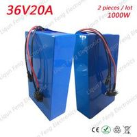 ETARIO 2 pieces/Lot 1000W Power Lithium ion battery 36V 20AH Electric Bike battery