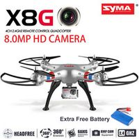 Syma X8G Upgrade Version With 8.0MP Wide Angle Camera