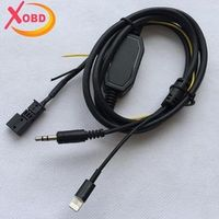CD Aux Audio Cable Adapter for BM/W E39 E46 E53 for iPhone 5 5S 6 6S Plus 1Pcs
