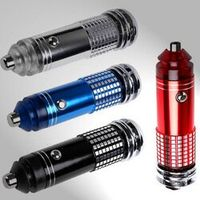 ANENG air purifier 12V mini car fresh anion ion oxygen rod ionizer air