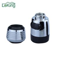 LeKing Nozzle Water Faucet Filter Areator Bubble Swivel Head Saving Kitchen Tap Spray