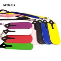 okdeals E Cig Shisha Pen Holder Neck Strap Lanyard Leather Pouch For Ego Cigarettes