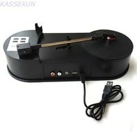 KASSEXUN Audio Digital Turntable Converter Record Player LP Vinyl MP3 in SD Card/USB