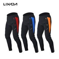 Lixada Men's Outdoor Cycling Pants Trousers Winter with Padded Cushion Riding