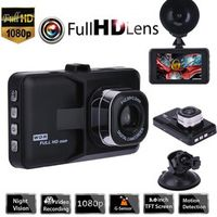 AGETUNR DVR Camera Driving Video Recorder With 1080P Car Wide Angle Driving Recorder