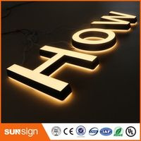 shsuosai Led Mini Frontlit Letters Acrylic Sign