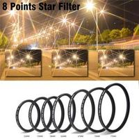 Zomei 8 Points Star Lens Filter Aluminum Frame for Sony Canon Nikon Cameras