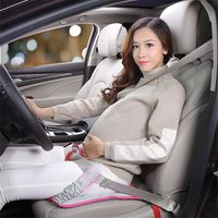 CJCMS Women Car Seat Cushion Belt For Pregnant Safety Protection For Alfa Romeo