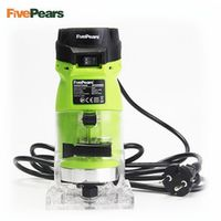 """LUSUN FivePears 6mm 1/4"""" trimmer tool 550W power electric router for woodwork"""