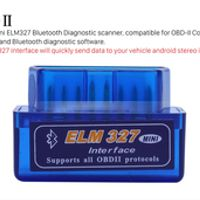 BINYEAE Mini Car Diagnostic Tool OBD-II with Bluetooth Interface ELM327 V1.5