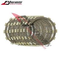 wind whispers 8 1 pcs Motorcycle Friction Clutch plates Cork Set For Yamaha XV1600