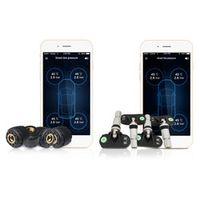 KONNWEI TP630 Car Bluetooth TPMS Tire Pressure PSI BAR Temperature Alarm System