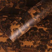 SUNICE hoome 124cmx50cm Waterproof Grain Vinyl Film Wood