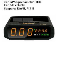 AUTOOL X100S Universal Car HUD GPS Speedometer MPH/KM/h LED Head UP Display Digital