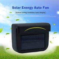 JLEC Car-Styling Solar Auto Fan Window Energy Saving Ventilation System Radiator Keep