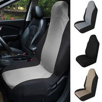 vvcesidot 1pc Car Seat Cover Breathable Auto Front Rear Seat Cushion Protector