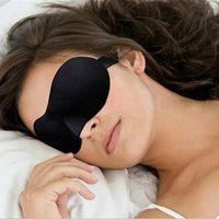 HLEST Travel 3D Eye Mask Night Relax Sleep Soft Padded Shade Cover Blindfold