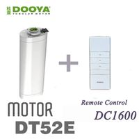 2016 Hot Sale Original Dooya 45W Electric Curtain Motor DT52E With Remote Controller For Smart Home