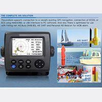 "APRICOTCAR 4.3"" Color LCD Class B Transponder marine ais receiver Rechargeable"