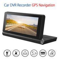 Blueskysea Car Center Console DVR Recorder Dual Camera GPS Navigation Angle G-sensor