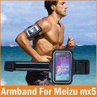 Mornrise 2016 Sports GYM Running Armband fundas Meizu Mx5 Waterproof Jogging Arm Band