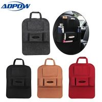 ADPOW Car Seat Back Storage Bag Organizer Travel Box Pocket Universal Stowing Tidying