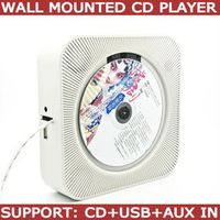in wall mounted cd player support CD MP3 USB AUX in