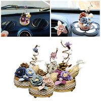 CAR-partment Eternal Flower Solid Wood Mechanical Music Box Decorative Ornaments