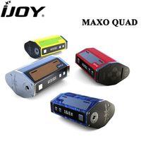 IJOY MAXO QUAD 18650 315W Box Mod Vape Temperature Control Firmware Upgradeable Electronic Cigarette Vaporizer (No Battery)