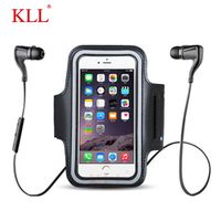 KLL Waterproof Universal Brassard Running Gym Sport Armband Case Mobile Phone