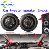 HoXiao 200W Super Speaker Power Loud Dome Tweeter Horn Loudspeaker For Car 2 pcs