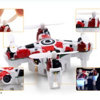 2017 Mini Cute Camera Remote Control Quadcopter RC Four axis aircraft (with 30W camera) 17.5*5.5*13.5cm Toys for Children