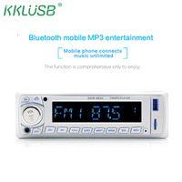 kklusb Car Radio Stereo Autoradio 12V In-dash 1 Din Bluetooth HiFi FM Aux Input