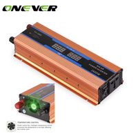 Onever Car 2600 W DC 12 V to AC 220 V Power Inverter Charger Converter Sturdy Durable
