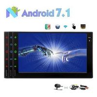 EinCar Android 7.1 Car Stereo Octa Core In Dash Navigation 2Din 7'' Radio Bluetooth