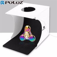"PULUZ 20*20cm 8"" Folding Portable Light Box Photo Lighting Studio Shooting Tent Box Kit Emart Diffuse Studio Softbox lightbox"