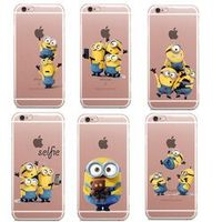 LOVINA CASES Cute Despicable Me Yellow Case For iphone 6 6s 5 5s SE 7 7Plus 8 8Plus