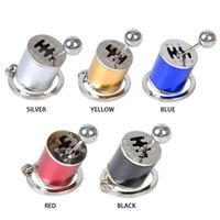 AUTMOR Six Speed Removable Transmission Gear Shift Gearshift Knob Gearbox Keychain