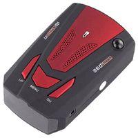 Fasdga V7 LED Display 360 degree Car Speedometer GPS Radar Detector Red