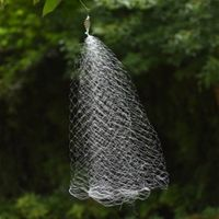 ZXZ Multi Size Fishing Net Trap Mesh Luminous Bead Copper Spring Shoal Fishnet Tackle