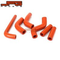 Silicone Radiator Coolant Hose For KTM EXC400 EXC450 EXC525 02-06 MX Enduro Dirt Bike Racing Offroad Motorcycle Motocross