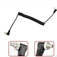 Foleto Camera Male M-M Stutio PC line Sync Cable Cord with Screw Lock PC-PC for Canon