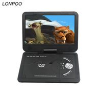 LONPOO Portable 10.1 inch with TFT LCD Screen Multi media dvd player With Analog TV