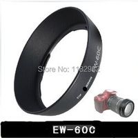 Exempt postage EMS Promotion Sale !!!   For Ca@on EW-60C 58mm Lens Hood For Ca@on 600D 550D 500D 1100D 18-55mm lens